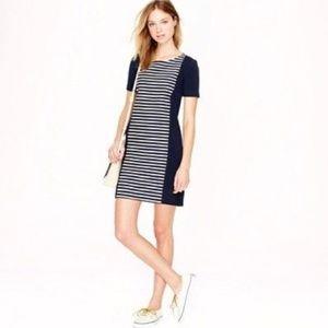 J. Crew Women Stripe Knit Shift Dress